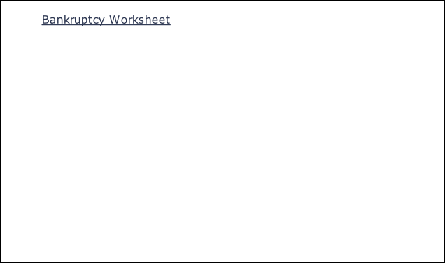 Worksheets Bankruptcy Worksheet mary cavanagh bankruptcy worksheet
